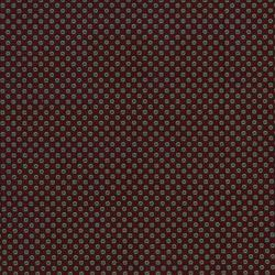 2542-001 Highland - Twin Flowers - Dark Cherry Fabric