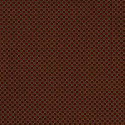 2542-002 Highland - Twin Flowers - Burgundy Fabric