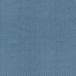 2679-005 My Heart's At Home - All Over Hexie - Storm Blue Fabric