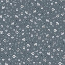 3326-003 Peacock Manor - Hexagon Meadow - Graphite Fabric