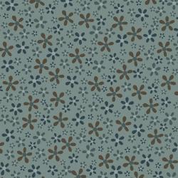 3327-003 Peacock Manor - Flower Beds - Opal Fabric