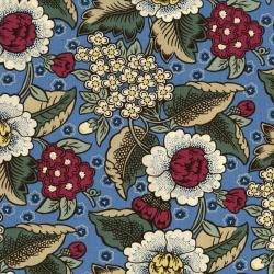 2647-001 Home Again - Garden - Blue/Multi Fabric
