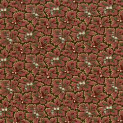 2651-001 Home Again - Floral - Brown/Red Fabric