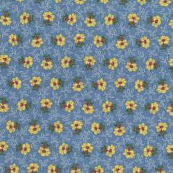 2652-002 Home Again - Daisy - Blue Fabric