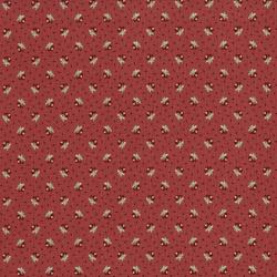 2653-001 Home Again - Rosebud - Red Fabric