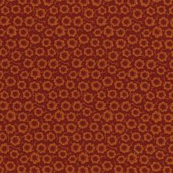 3058-001 River Song - Simple Bloom - Red Orange Fabric