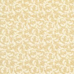 2765-003 Sand & Stone - Scroll - Cream/Beige Fabric