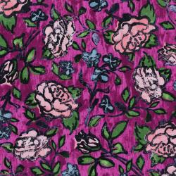 3342-001 Florabunda! - Blowsy Rose - Bengal Rose Fabric