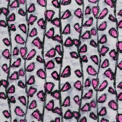 3344-001 Florabunda! - Tendrils - Bengal Rose Fabric
