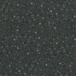 2035-010 Basically Patrick - Stars - Black/Gray Fabric