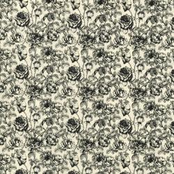 2742-001 Queen Bee - Rose Toile - Pearl Fabric