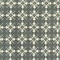 2746-001 Queen Bee - Ornate - Pearl Fabric