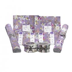 PS100P-2X2X2X4 Lilac & Sage Metallic Precut Pack