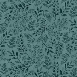 PS103-CA5 Lilac & Sage - Leaves - Capri Fabric