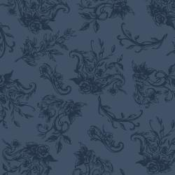 PS202-NA3 Summer Rose - Charlotte - Navy Fabric