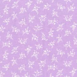 3149-001 Afternoon In The Attic - Cameo Blossom - Lavender Fabric
