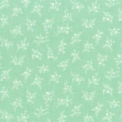 3149-004 Afternoon In The Attic - Cameo Blossom - Mint Fabric