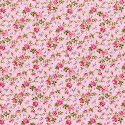 3268-002 Afternoon In The Attic - Dainty Blooms - Sweet Pea Flannel Fabric