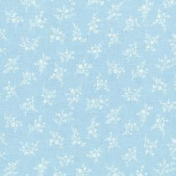 3269-001 Afternoon In The Attic - Cameo Blossom - Bluebell Flannel Fabric