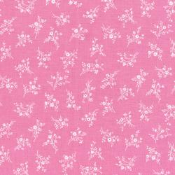 3269-002 Afternoon In The Attic - Cameo Blossom - Rose Flannel Fabric