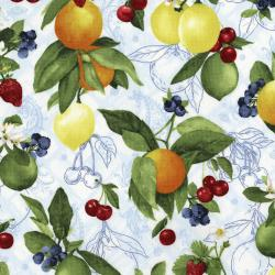 3555-001 Ambrosia Farm - Orchard - Blue Sky Fabric