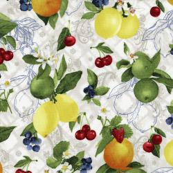3555-002 Ambrosia Farm - Orchard - Natural Fabric