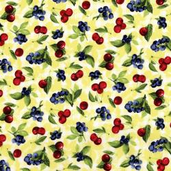 3558-002 Ambrosia Farm - Cherry Berry - Sunshine Fabric