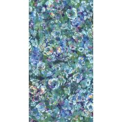 RJ804-AQ1D Arcadia - Textured Posie - Aquamarine Digiprint Fabric