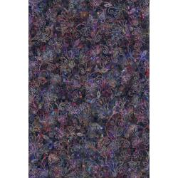 RJ805-MI1D Arcadia - Glistening Vines - Midnight Digiprint Fabric