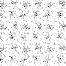 2611-003 Bare Essentials Deluxe - Calla Lily - White/Black Fabric