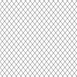 2614-003 Bare Essentials Deluxe - Trellis - White/Black Fabric