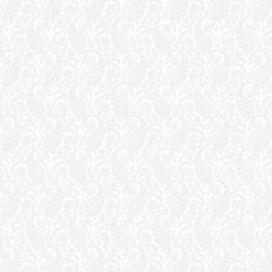 2621-001 Bare Essentials Deluxe - Paisley - White/White Fabric