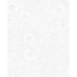 3317-001 Bare Essentials Deluxe - Linework Floral - White Glove Fabric
