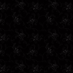 RJ503-BB4 Bare Essentials Deluxe - Calla Lily - Black on Black Fabric