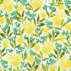 3410-003 Beach Bash - Fronds Forever - Pineapple Fabric