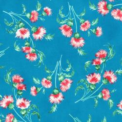 3412-001 Beach Bash - Mini Mums - Pool Side Fabric