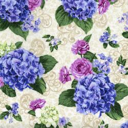 2912-002 Beverly Park - Wilshire - Magnolia Fabric