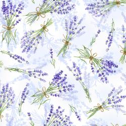 3566-002 Bloomfield Avenue - Laurelwood - Bluebell Fabric