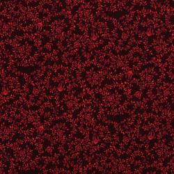 3086-002 Bordeaux Rose - Vigne - Rouge Fabric