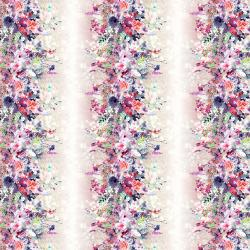 RJ2203-PI1D Bouquet - Petal Path - Pink Digiprint Fabric