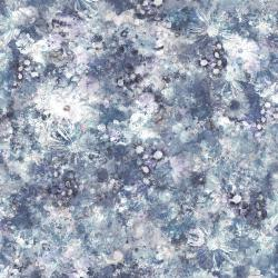 RJ2207-ST1D Bouquet - Dream Garden - Steel Digiprint Fabric