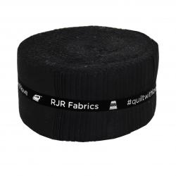 9653-651 Cotton Supreme Solids Black Pixie Strips