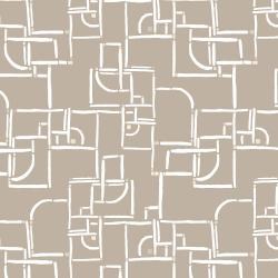 RJ3002-NE3 Cubing It - Maze - Neutral Fabric