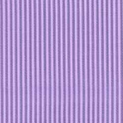 2959-005 Dots & Stripes - Ticking Away - Lavender Fabric