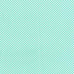 2961-001 Dots & Stripes - Dot Com - Seafoam Fabric
