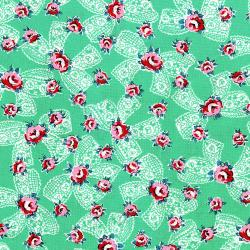 2964-001 Everything But The Kitchen Sink XII - Pinafore - Spring Green Fabric