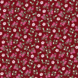 3304-002 Everything But The Kitchen Sink XIII - Barbara's Berries - Strawberry Fabric