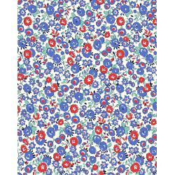 3595-002 Everything But The Kitchen Sink XIV - Tea Party - Blueberry Fabric