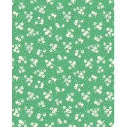 3596-004 Everything But The Kitchen Sink XIV - Daisy Dot - Grass Fabric