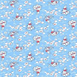 RJ2500-SK3 Everything But The Kitchen Sink XV - Bunny - Sky Fabric
